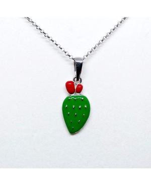Necklace Ficodindia Pic IMPD134R - 1 - Collane