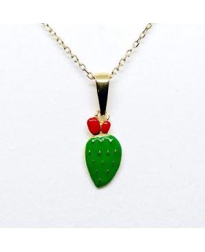 Necklace Ficodindia Pic IMPD134D - 1 - Collane