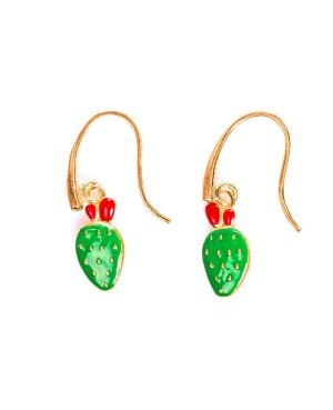 Earrings Ficodindia Smalto IMOR101D - 1 - Orecchini