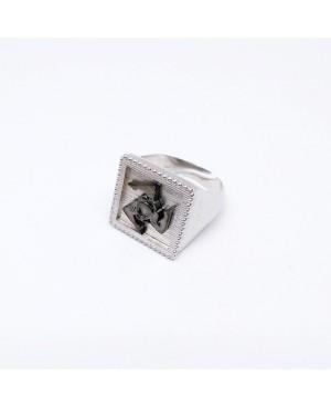 Ring Quadro Trinacria IMAN20RRU - 1 - Anelli