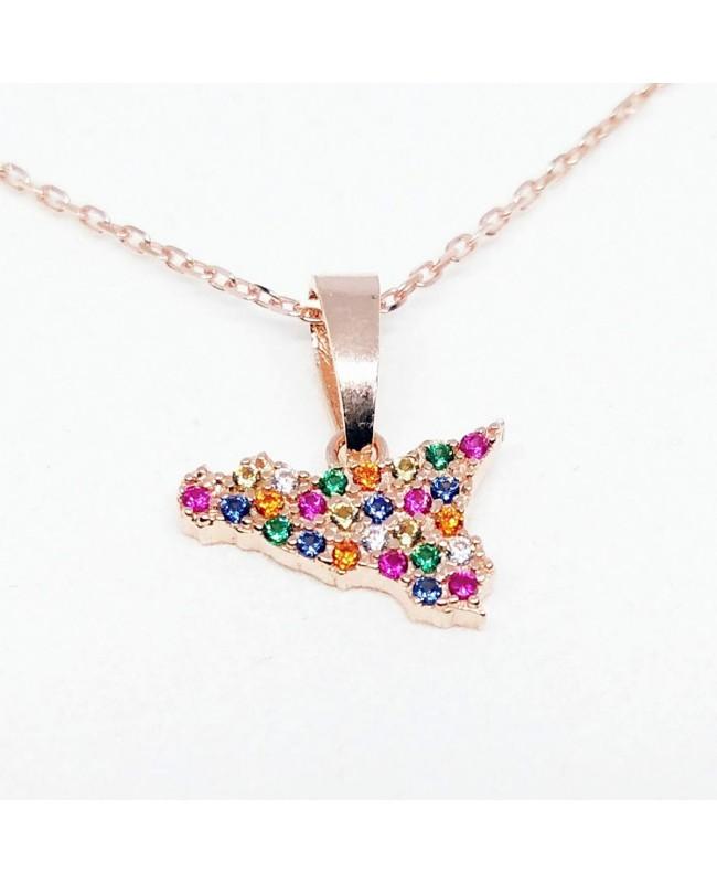 Necklace Sicilia Zirc Med IMPD04RO - 1 - Collane