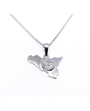Necklace Sicilia Sole Gr IMPD128R - 1 - Collane