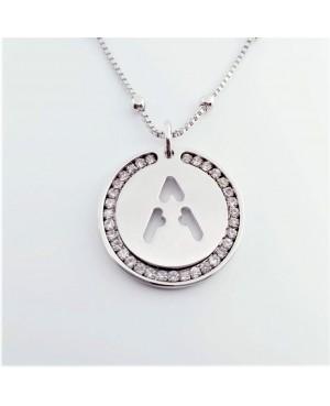 Initial Necklace Brass A - 1 - Iniziali