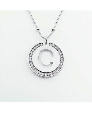 Initial Necklace Brass C - 1 - Iniziali