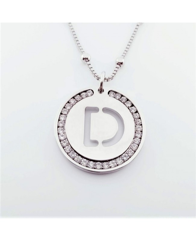 Initial Necklace Brass D - 1 - Iniziali