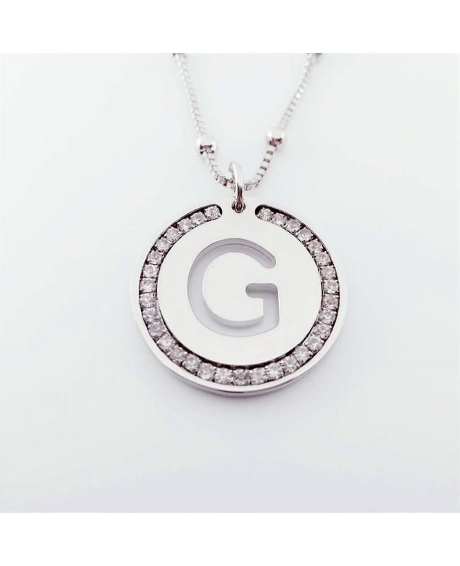 Initial Necklace Brass G - 1 - Iniziali