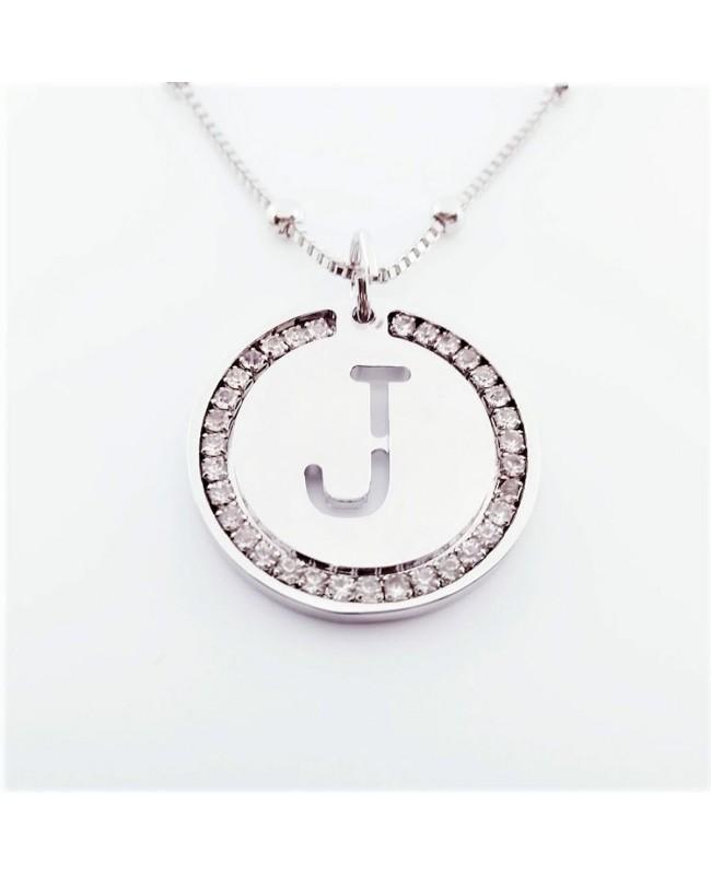 Initial Necklace Brass J - 1 - Iniziali
