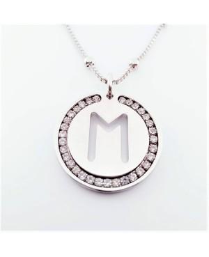 Initial Necklace Brass M - 1 - Iniziali