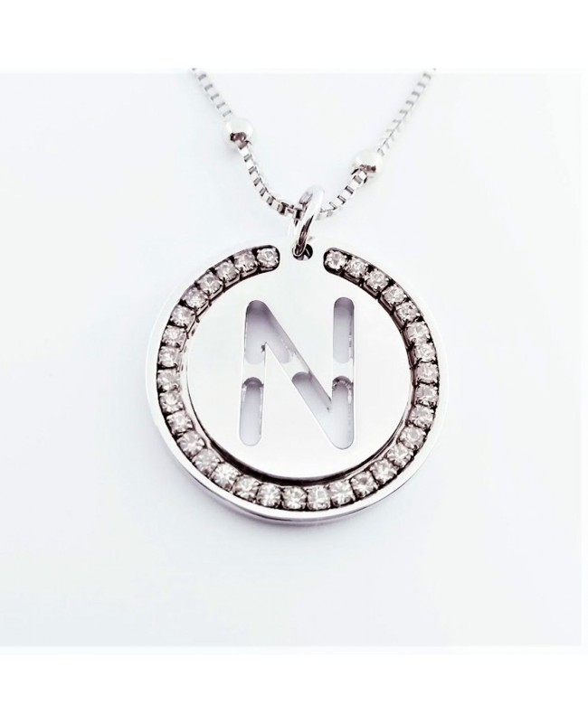 Initial Necklace Brass N - 1 - Iniziali