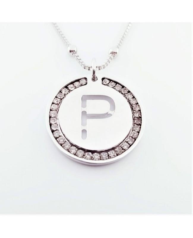 Initial Necklace Brass P - 1 - Iniziali