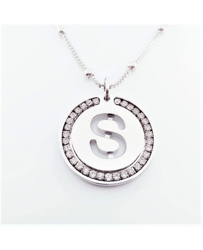 Initial Necklace Brass S - 1 - Iniziali