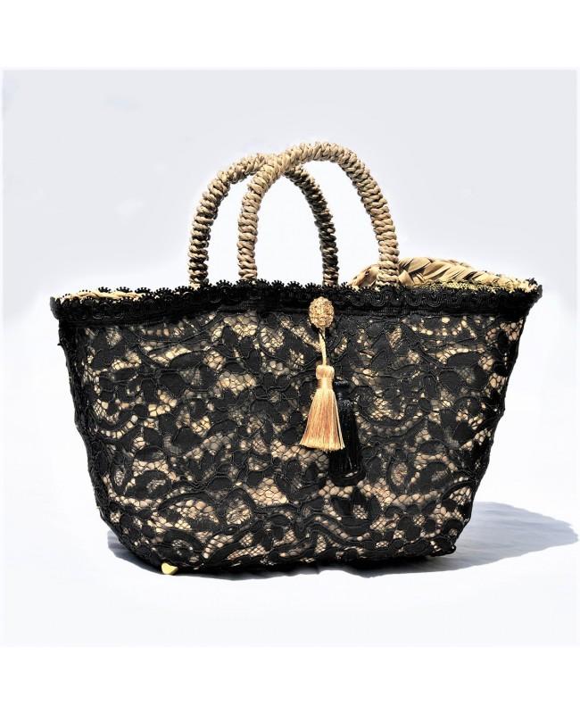 Black Lace Coffa Bag - 1 - Coffe