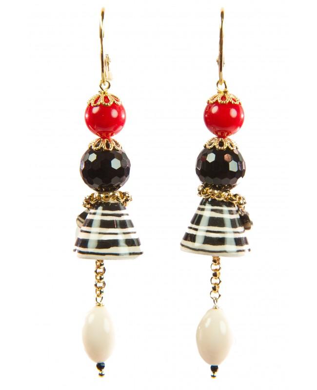 Earrings AKF01O - 1 - Orecchini