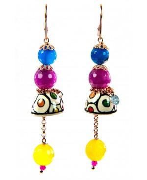 Earrings AKF02O - 1 - Orecchini
