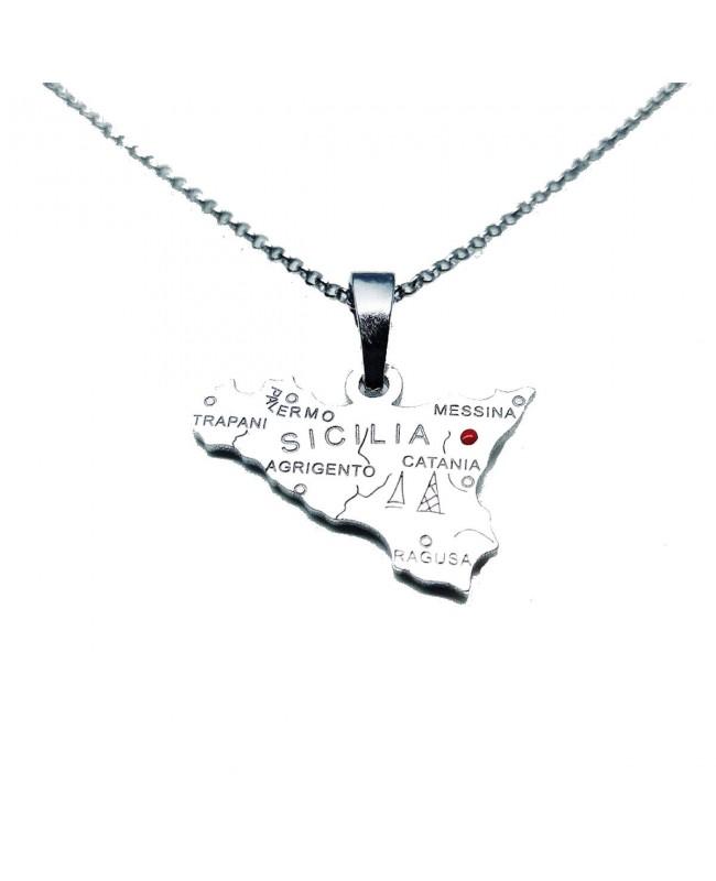 Necklace Sicilia Pic IMPD116R - 1 - Collane