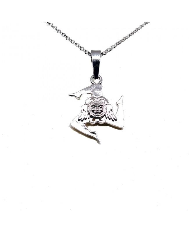 Necklace Trinacria Volto Gr IMPD129R - 1 - Collane