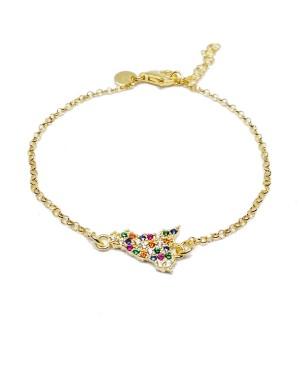Bracelet Sicilia Zirc Multicol IMBR50D - 1 - Bracciali