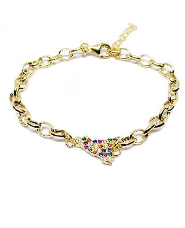 Bracelet Sicilia Rolo Zirc Multicol IMBR63D - 1 - Bracciali