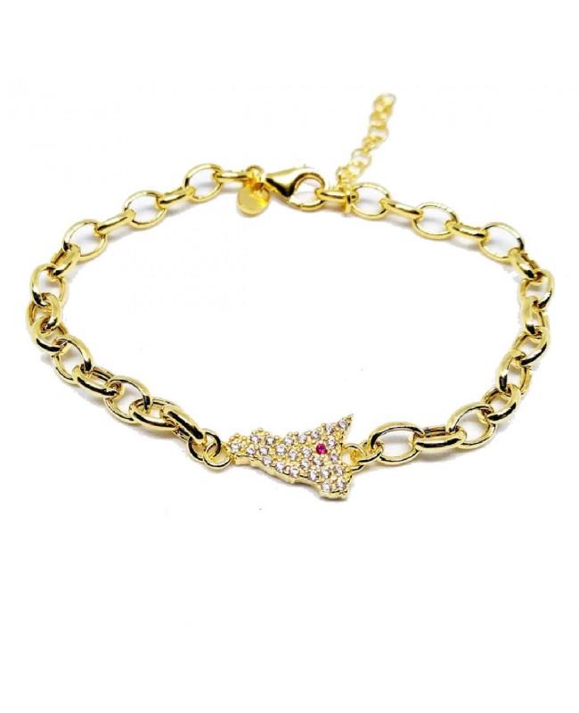 Bracelet Sicilia Rolo Zirc Etna IMBR63D - 1 - Bracciali