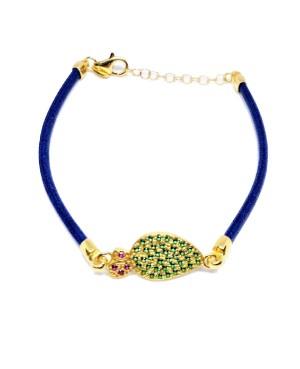 Bracelet Ficodindia Zirc Cordino Blu IMBR03D - 2 - Bracciali