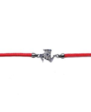 Bracelet Trinacria Pic Zirc Ner Cordino Rosso IMBR191RU - 2 - Bracciali
