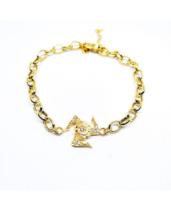 Bracelet Trinacria Zirc Rolo IMBR64D - 1 - Bracciali