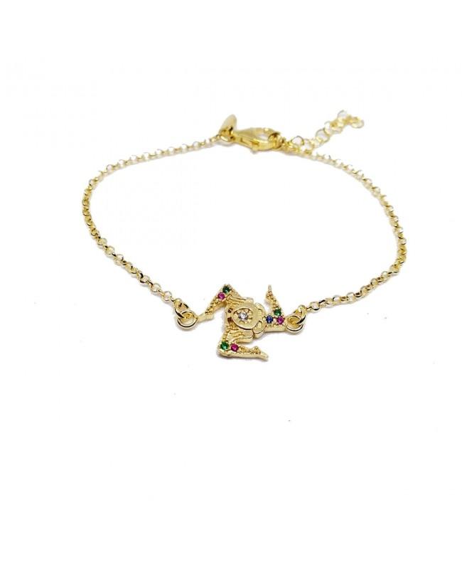 Bracelet Trinacria Zirc IMBR49D - 1 - Bracciali