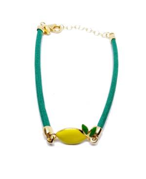 Bracelet Limone Picc Cordino Verde IMBR24D - 1 - Bracciali