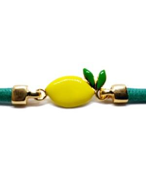 Bracelet Limone Picc Cordino Verde IMBR24D - 3 - Bracciali