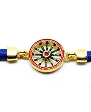 Bracelet Ruota Cordino Blu IMBR39D - 3 - Bracciali