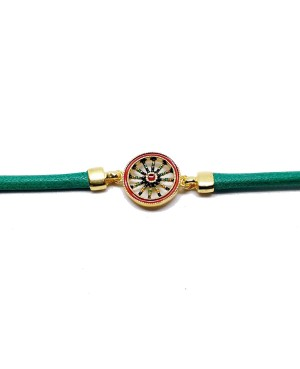 Bracelet Ruota Cordino Verde IMBR39D - 2 - Bracciali