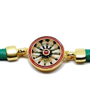 Bracelet Ruota Cordino Verde IMBR39D - 3 - Bracciali