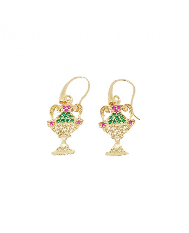 Earrings 1 Coppe Zirc IMOR75D - 1 - Orecchini