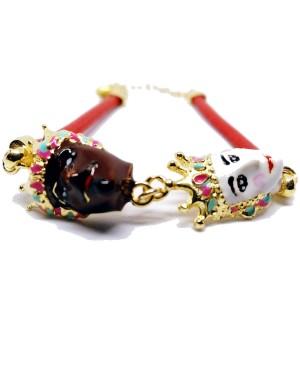 Bracelet Mori Cordino Rosso IMBR29D - 3 - Bracciali