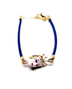 Bracelet Mora Cordino Blu IMBR34D - 1 - Bracciali