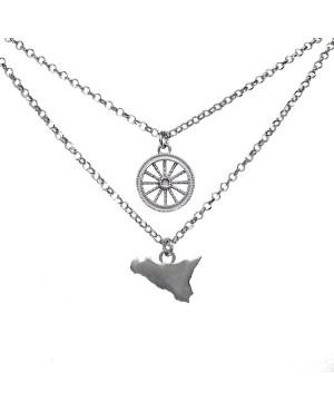 Necklace Ruota Sicilia IMCLR - 1 - Collane