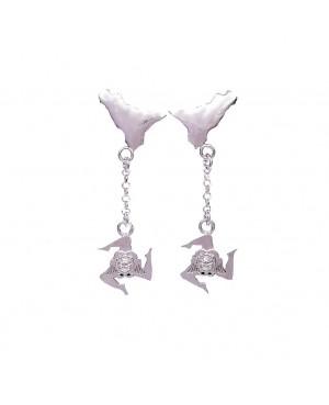 Earrings Sicilia Trinacria IMORR - 1 - Orecchini