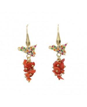 Earrings Sicilia Zirc Ciuffo IMORD - 1 - Orecchini