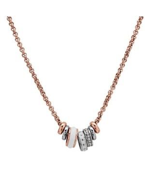 Necklace Fossil JF01122998 - 1 - Gioielli