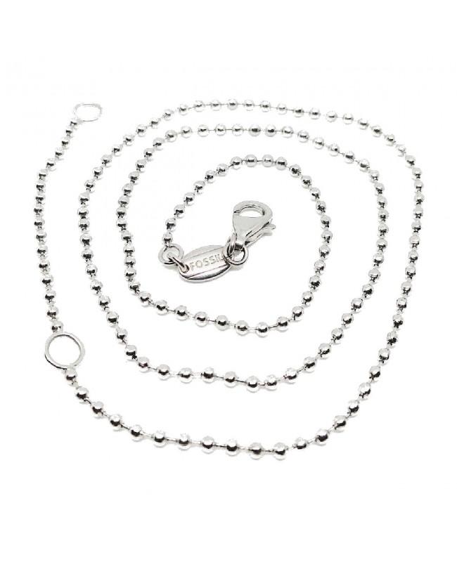 Necklace Fossil JF82879040 - 1 - Gioielli