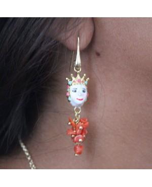 Earrings Mori con ciuffo IMOR43C - 2 - Orecchini