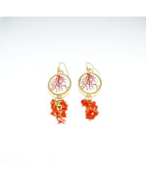 Earrings OO18COR01 - 2 - Orecchini