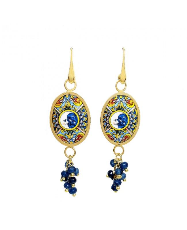 Earrings OO18LUN01 - 1 - Orecchini