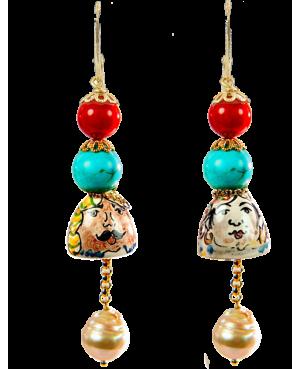 Earrings AKP04O - 1 - Orecchini