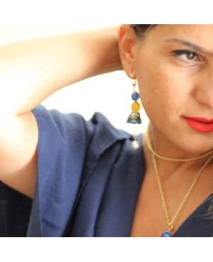 Earrings AKP20O - 4 - Orecchini