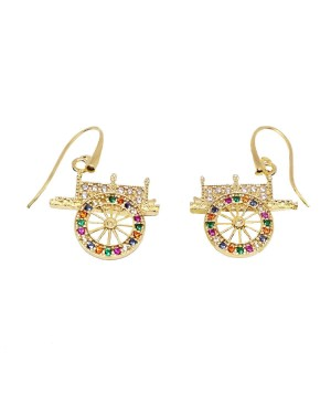 Earrings Carretto ZIRC IMOR16D - 1 - Orecchini
