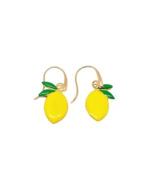 Orecchini Limone Smalto IMOR73D - 1 - Orecchini