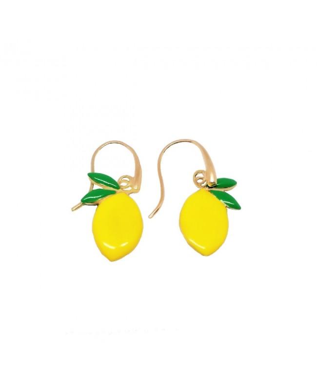 Earrings Limone Smalto IMOR73D - 1 - Orecchini
