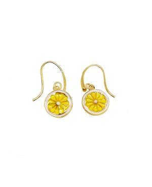Earrings Limone Smalto IMOR114D - 1 - Orecchini