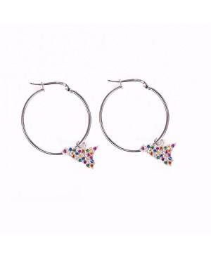 Hoop Earrings Sicilia IMOR76R - 1 - Orecchini